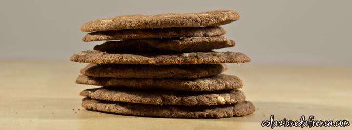 cookies biscotti al cioccolato