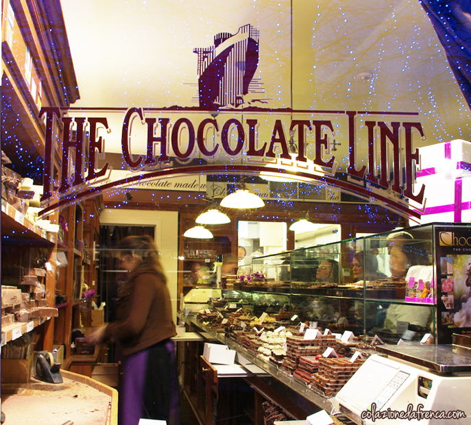 chocolate line brugges belgio