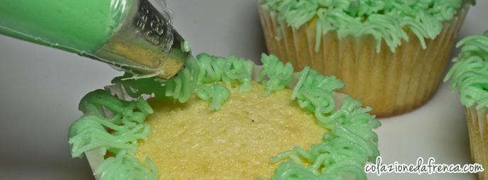 cupcake vaniglia e glassa al burro