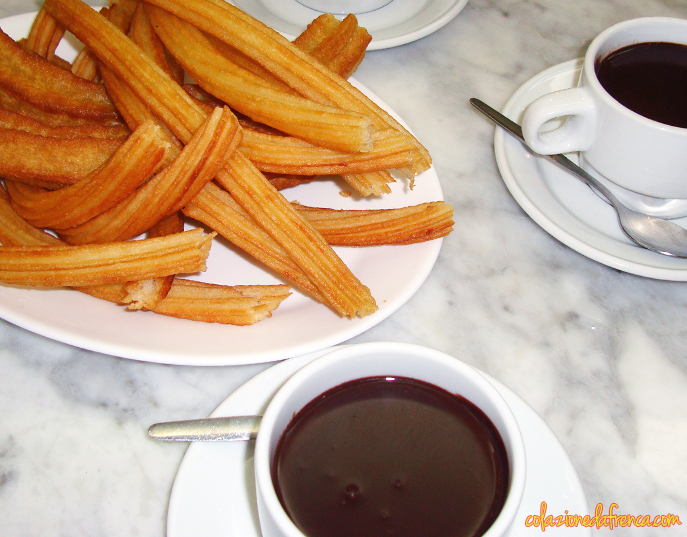 churros cioccolata madrid