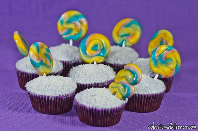 cupcakes cioccolato leccalecca