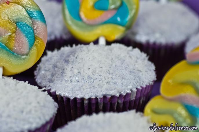 lecca lecca cupcake cioccolato