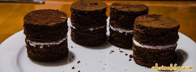tortine natalizie cioccolato