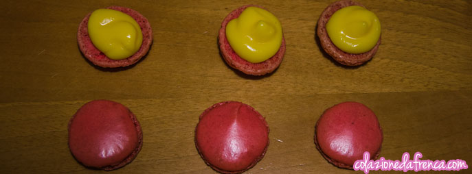 macarons crema vaniglia