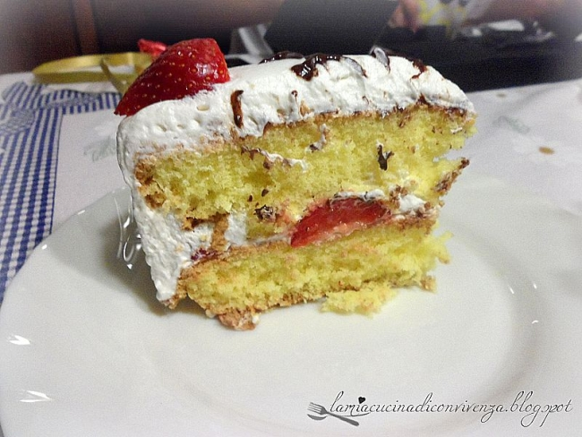 shortcake giapponese fragole
