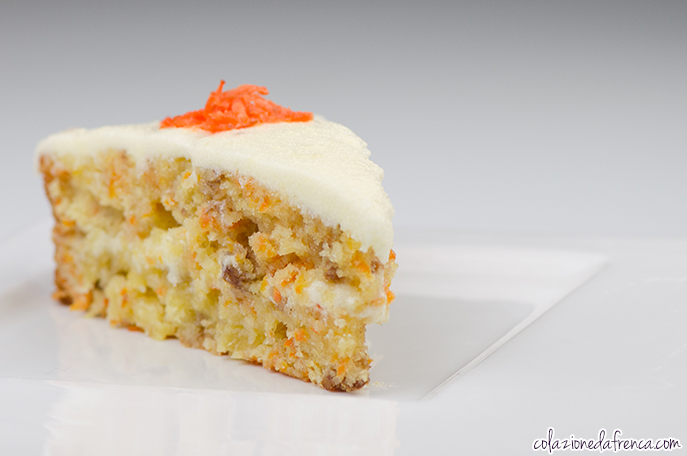 torta carote ananas noci