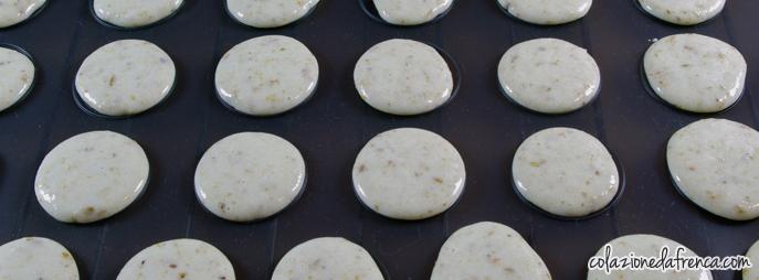 macarons al pistacchio