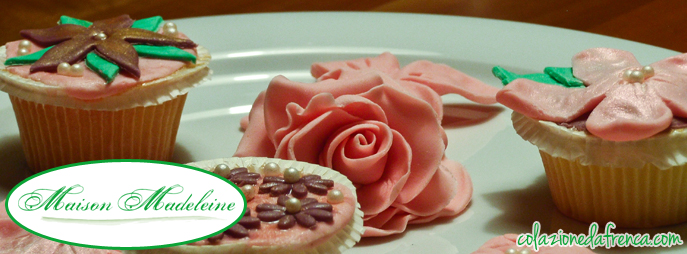 cupcake maison madeleine