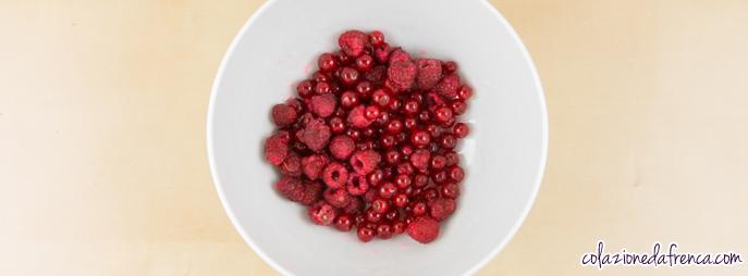 ricetta di torta ai frutti rossi
