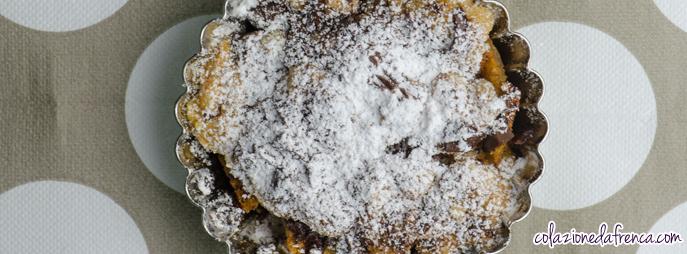 crumble pere cioccolato