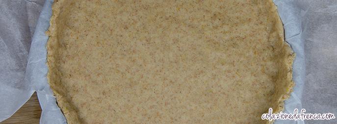 crostata integrale marmellata cachi